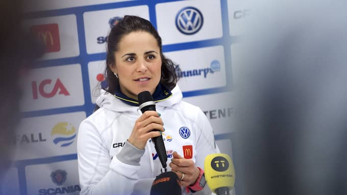 Anna Haag uppmanar idrottsföräldrar att stötta. Foto: CARL SANDIN / BILDBYRÅN