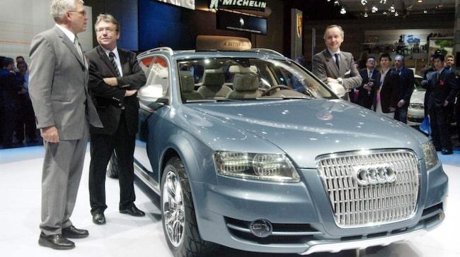 Utvecklingschefen på Audi, Ulrich Hackenberg, till vänster, tvingas bort från Volkswagengruppen. Också VW:s USA-chef lämnar sin post.