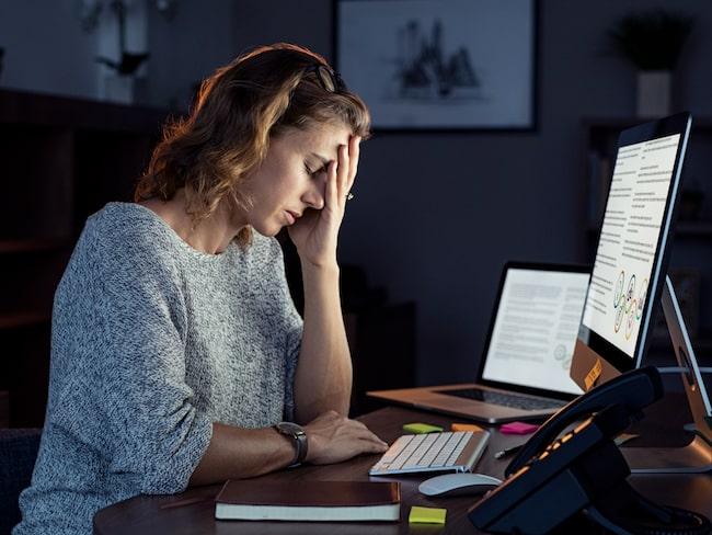 Stress påverkar inte bara vårt inre mående, det kan även visa sig på vår kropp.