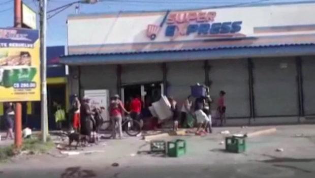 Stora protester efter socialförsäkringsreformer i Nicaragua