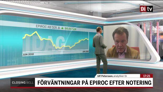 """Börsexperten: """"Den har tagits emot väldigt bra"""""""