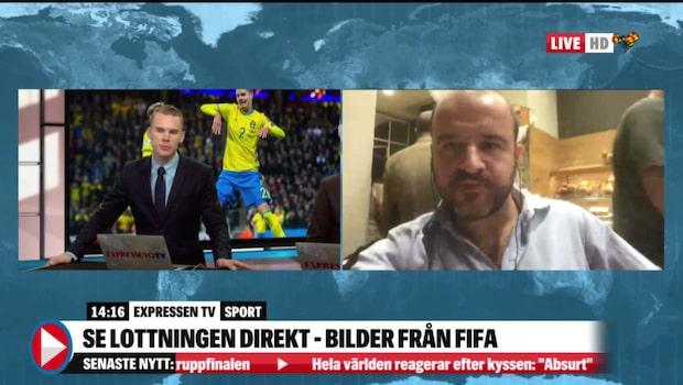 Italienska mardrömmen besannad - får möta Sverige