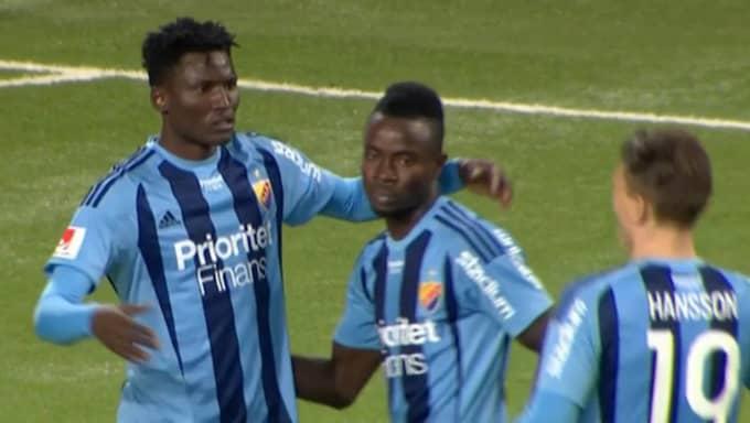 Michael Olunga gjorde stor succé. Foto: C More Sport.