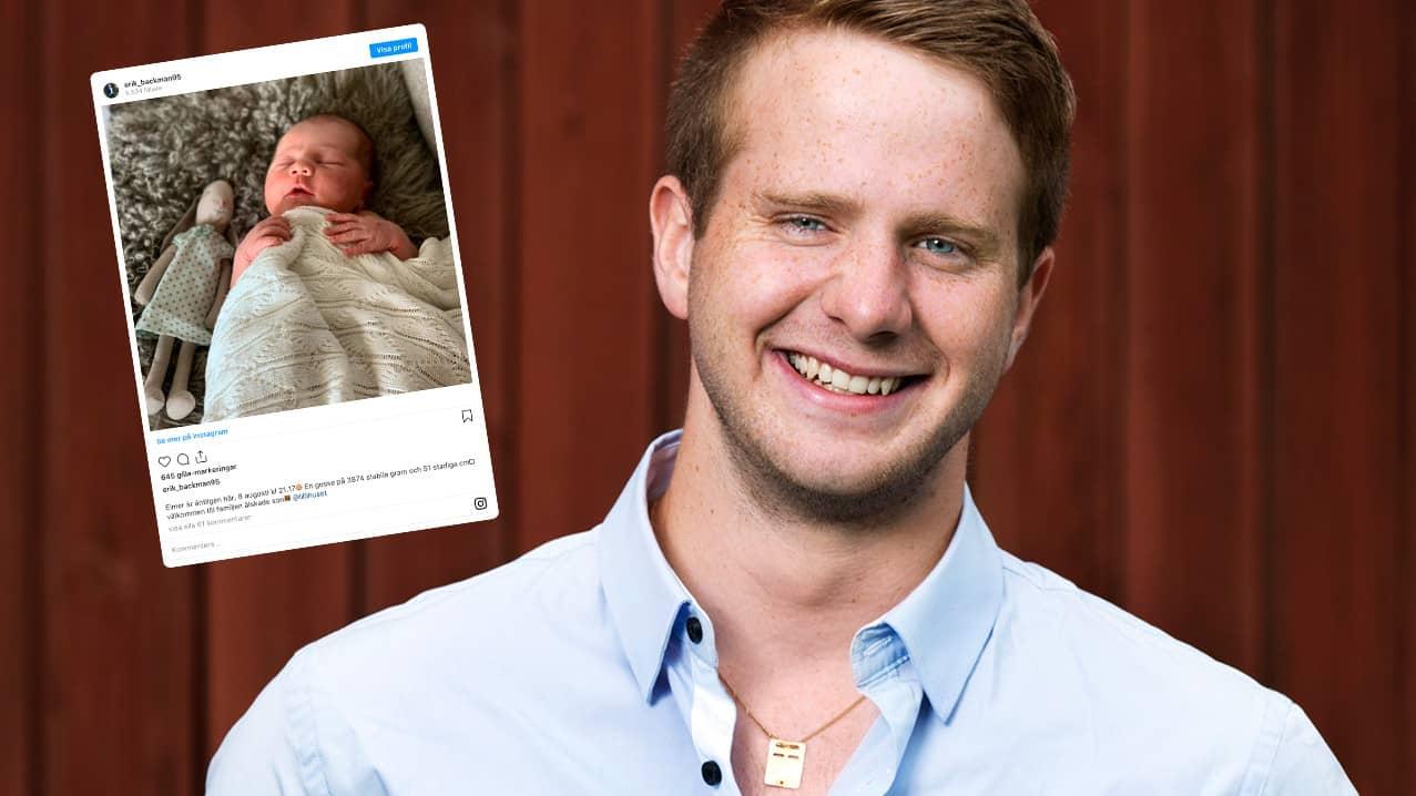 """Tv-bondens bebislycka: """"Välkommen till familjen"""""""