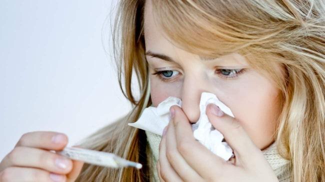 förkylning efter influensa