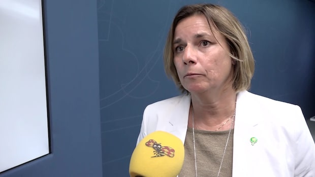 """Isabella Lövin: """"Ansvar att styra mot klimatmålen"""""""
