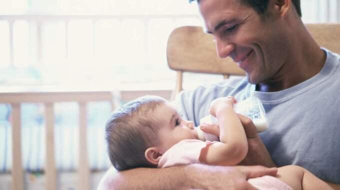 Vid årsskiftet öronmärks ytterligare en månad för vardera förälder i föräldraförsäkringen.