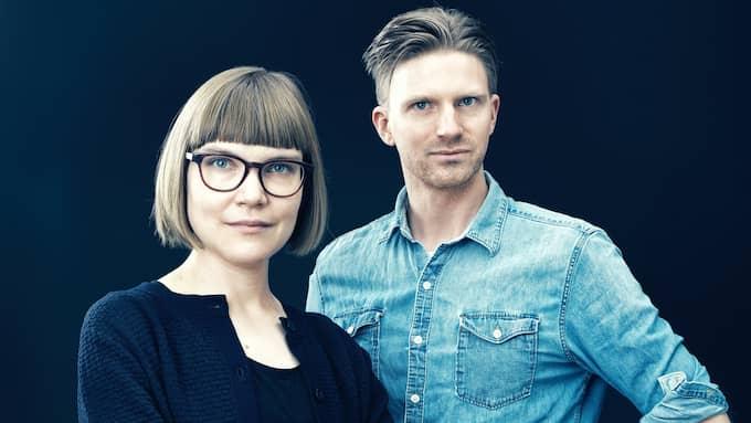 """Sara Bergmark Elfgren har skrivit och Karl Johnsson illustrerat """"Vei"""". Foto: GABRIEL LILJEVALL"""