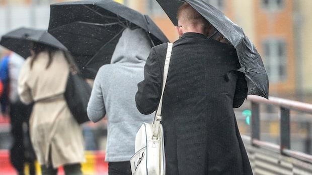 """Meteorologen: """"Omfattande regn på väg att passera över landet"""""""