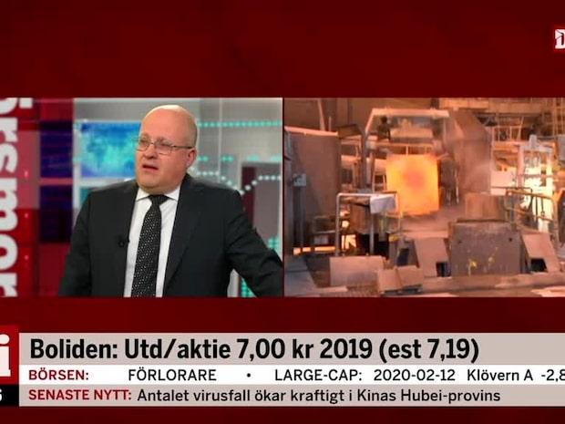 """Vd för Boliden: """"Tolv år utan dödsfall i våra gruvor"""""""