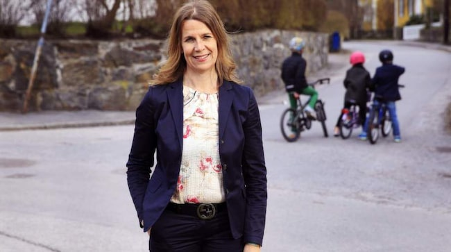 """Projekt. Gunilla Lindh,45, Stockholm, blev lämnad av sin make samma år som alla deras tre barn fick diagnosen autism. """"Jag bestämde mig för att inte bli bitter. Jag såg varje dag som ett projekt jag skulle klara av."""""""