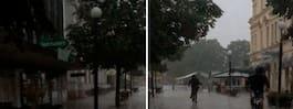 Strömavbrott i Sundsvall – staden badar i mörker