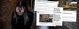 26 larm om våldtäkter –  polisen jagar misstänkta