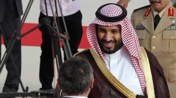 Saudiske kronprinsen Muhammad bin Salman förnekar att motsättningarna kommer leda till krig. Foto: Muhammad Hamed