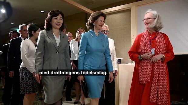 Kungens hyllning till drottning Silvia