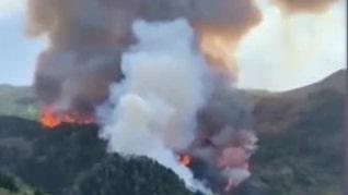Ännu en skogsbrand härjar på Gran Canaria