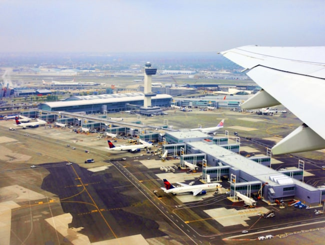 <span>På flygplatsen i USA ska inresande svenskar kunna gå i samma köer som inrikesresande.</span>