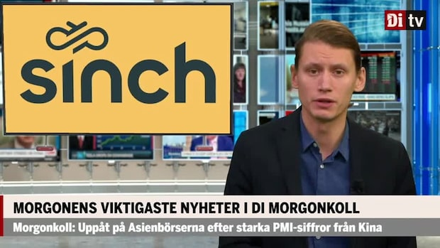 Di Morgonkoll: Softbank blir näst största ägare i Sinch