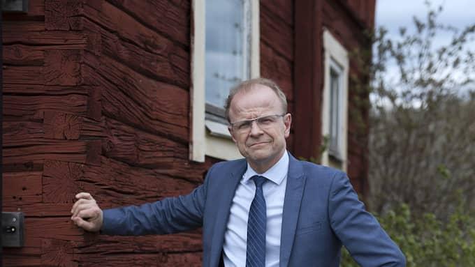 Mikael Oscarsson (KD) har anmält infrastrukturministern till KU. Foto: SVEN LINDWALL