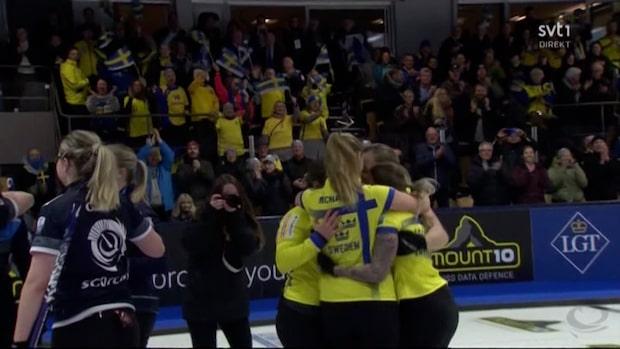 Här vinner Sverige EM-guld med sista sten