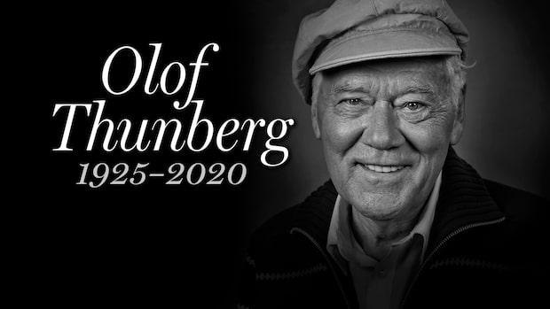 Skådespelaren Olof Thunberg är död