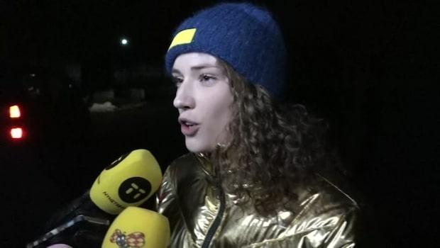 """Här hyllas Hanna Öberg av landslagskollegorna: """"Grym du är!"""""""