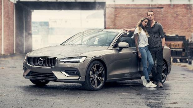 Joel Kinnaman i nya reklamen för Volvo V60