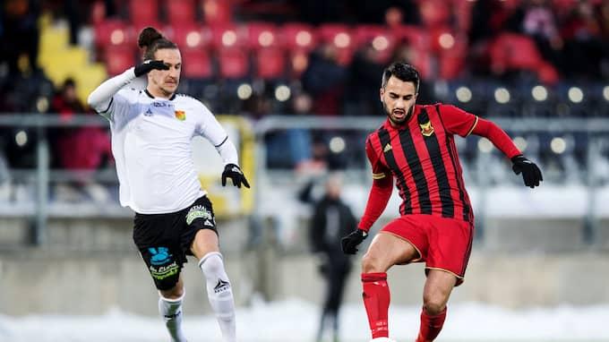 Brwa Nouri och Östersund är klart för semifinal i cupen. Foto: TOBIAS NYKÄNEN / BILDBYRÅN