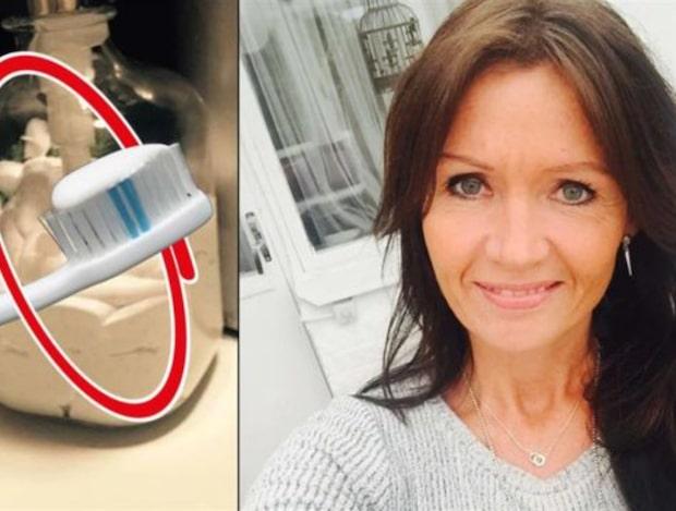 Ussis smarta lösning på tandkrämskladdet