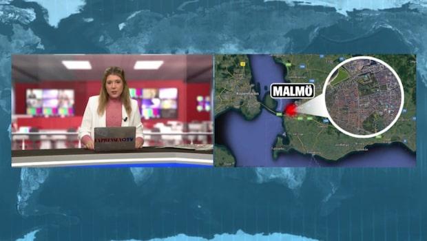 Misstänkt skottlossning i centrala Malmö