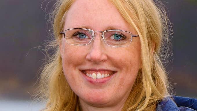 Katarina Magnusson, ålforskare vid SLU. Foto: ANDERS JONSSON