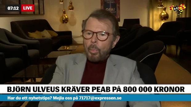 Ulvaeus stämmer PEAB – tvingades från sitt hem