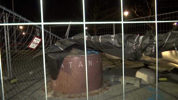 Zlatan-statyn flyttas efter vandaliseringen
