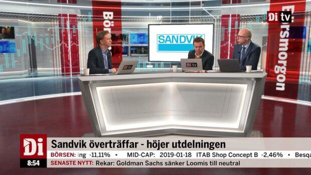 """Petersson om Sandvik: """"Tycker den är ganska lågt värderad"""""""