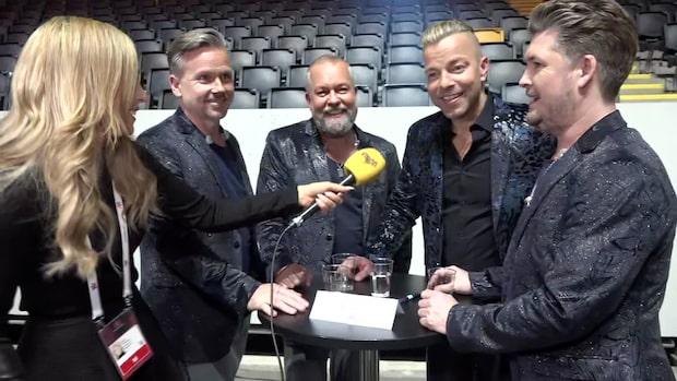 """Arvingarna om internationella juryn: """"Hoppas de gillar svenska"""""""