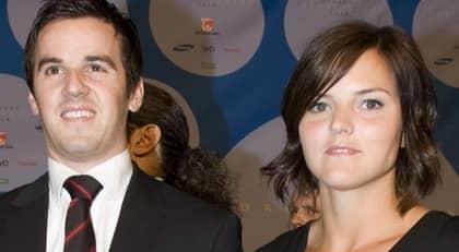 Sanna Kallur, 29, och Klas Aspling, 31, har gift sig i Italien. Foto: Andreas L Eriksson
