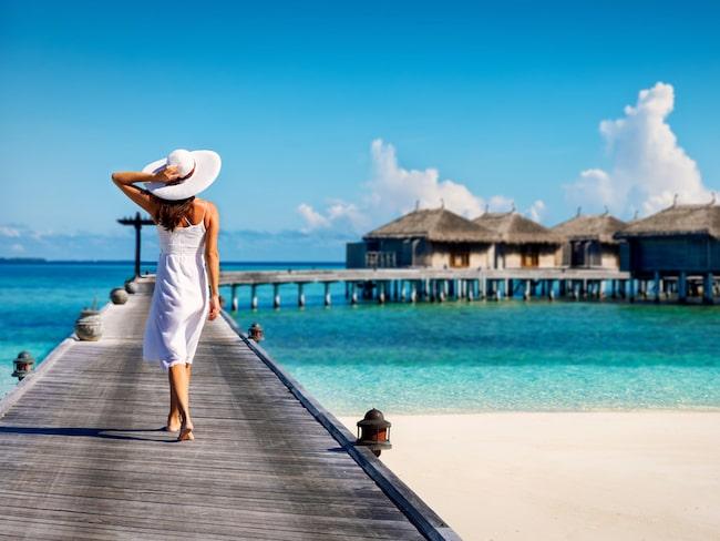Maldivernas stränder är vackrare än retuscherade katalogbilder.