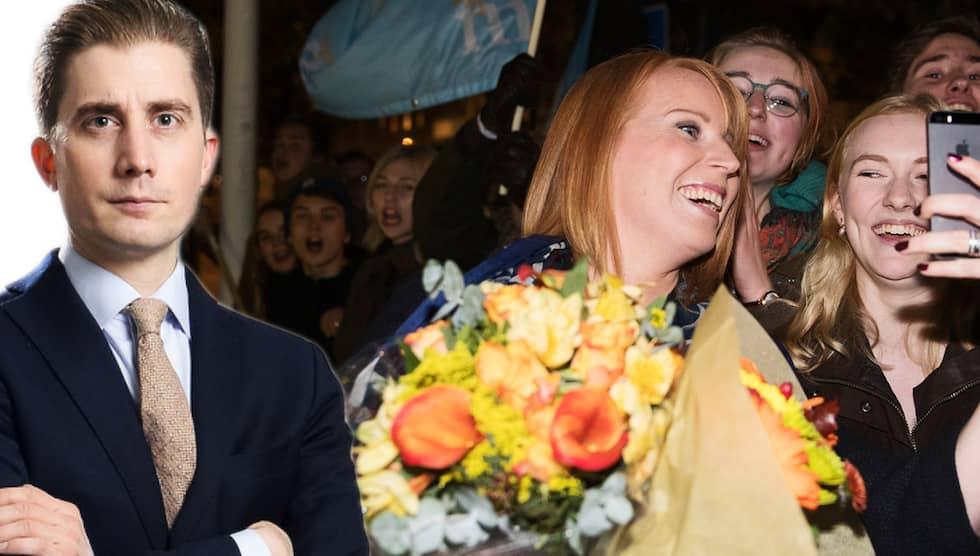 Centerpartiet slipar på sin långsiktiga plan – att göra Annie Lööf till statsminister om fem år, skriver Torbjörn Nilsson. Foto: NILS PETTER NILSSON