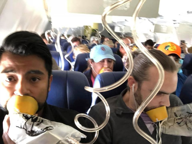 Det missade flera passagerare vid en uppmärksammad nödlandning i USA tidigare i år.