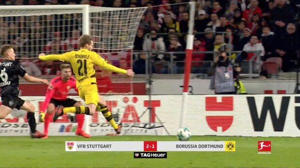Höjdpunkter: Stuttgart-Dortmund