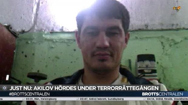 Hör Akilovs egna ord om motivet för attacken på Drottninggatan