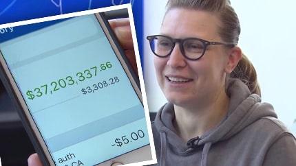 Ruths överraskning – banken satte in 345 miljoner på hennes konto