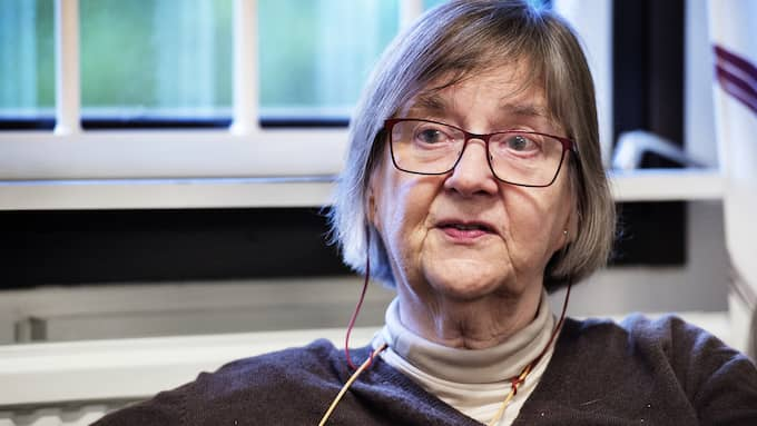 Marie Åsberg, professor vid Danderyds stressrehab i Stockholm. Foto: ANNA-KARIN NILSSON / EXPRESSEN