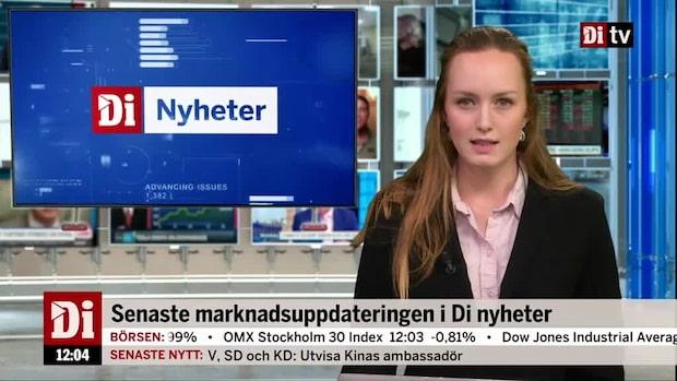 Di Nyheter: Nedgången tilltar på Stockholmsbörsen