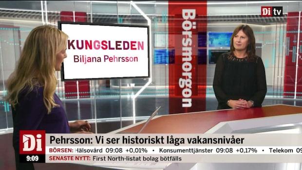Kungsledens vd, Biljana Pehrsson, om läget på fastighetsmarknaden