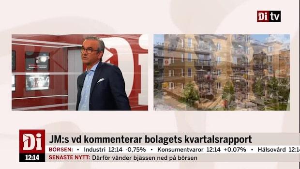 "JMs vd: ""Jag tror på stabila priser under 2019"""