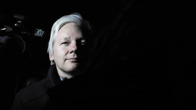 Julian Assange. Foto: TT
