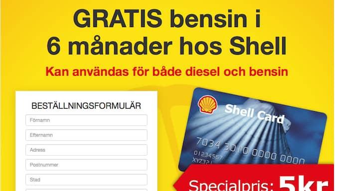 BLUFFMEJL. Tre bensinmackar i södra Sverige har kapats av bedragare. Kunderna har fått det här mejlet där de utlovades gratis bensin i ett halvår om de lämnade ut personuppgifter.