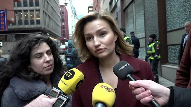 """Ebba Buschs coronakritik: """"Jag hade räknat med fler svar"""""""