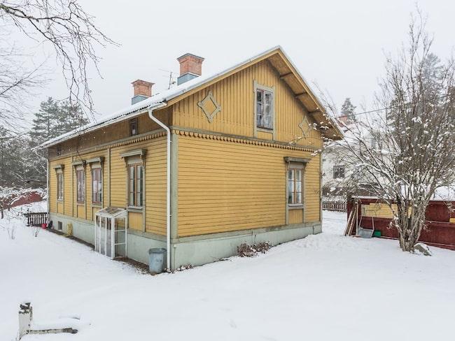 Huset är fantastiskt både utanpå och inuti.
